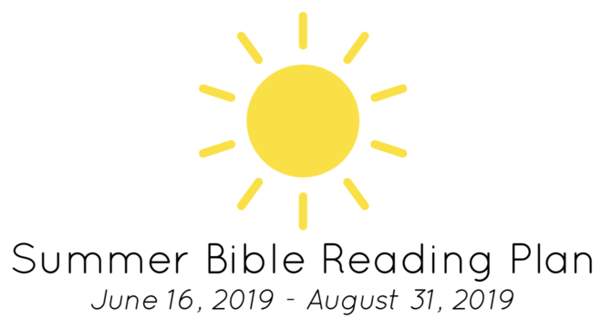 Summer Bible Reading image