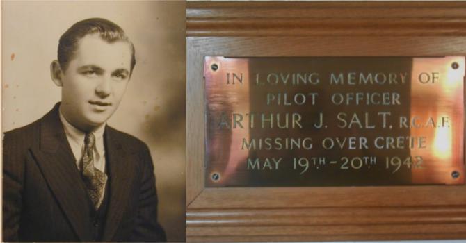 Remembering Arthur Salt image