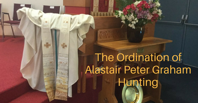 Ordination of Alastair Hunting image