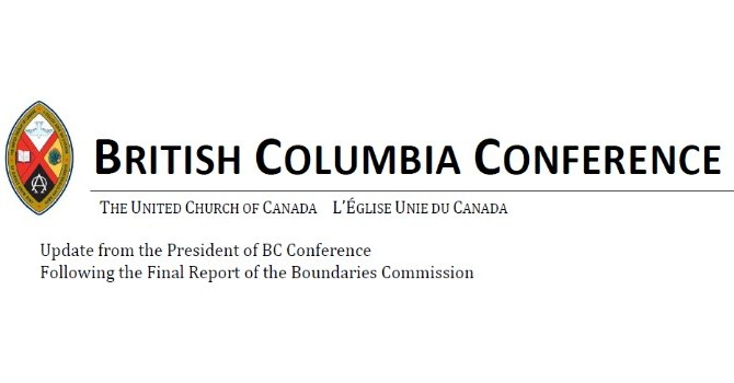 An update letter from the President of BC Conference image