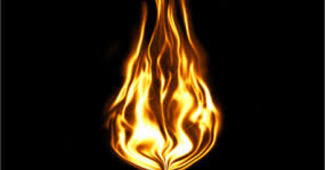 Tongue on Fire image