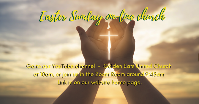 Easter Sunday on-line service