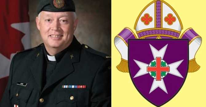 Bishop of the Anglican Military Ordinariate at our parish, diocese image