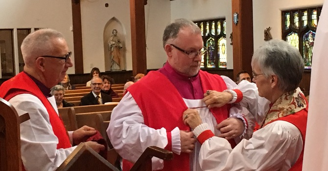 CONSECRATION OF BISHOP DAVID, THE 10TH BISHOP OF CALEDONIA image
