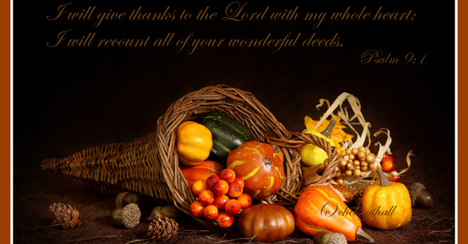 Harvest Thanksgiving Display - October 7th 2018 image