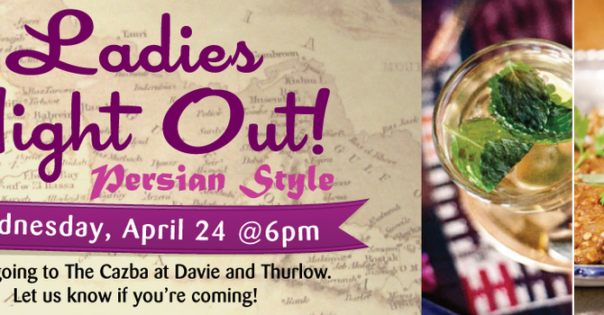 Ladies Night Out - Persian Style image
