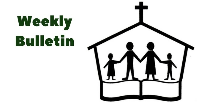 Weekly Bulletin | June 11, 2017 image