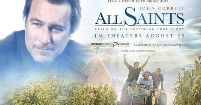 "PWRDF supports the release of the Movie ""All Saints"" image"