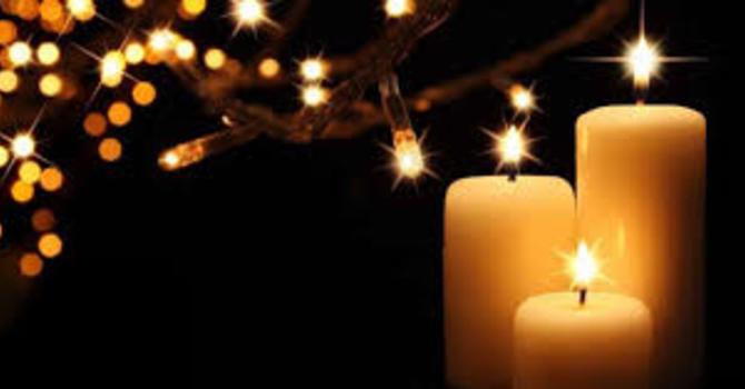 Contemplative Candlelight & Communion Service 9 p.m. (S)