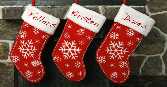 Global Partners Christmas Stocking! image