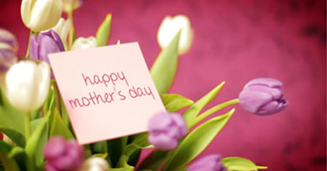 May 8, 2016 ~ Mothering Sunday image