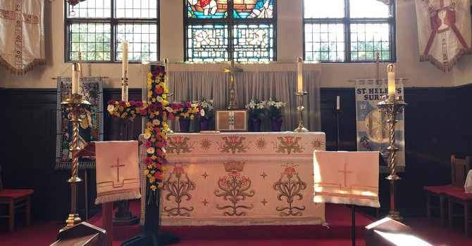 St. Helen's Easter Day Service image