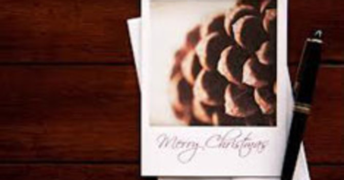 Christmas Cards for First United image