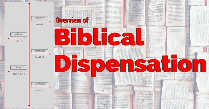Biblical Dispensation image