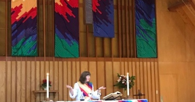 Sharon Smith's First Sunday at St. Catherine's image