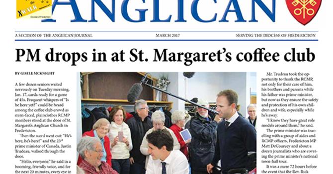 New Brunswick Anglican March  2017 image