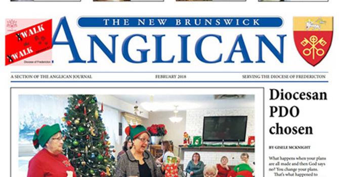 New Brunswick Anglican February 2018 image