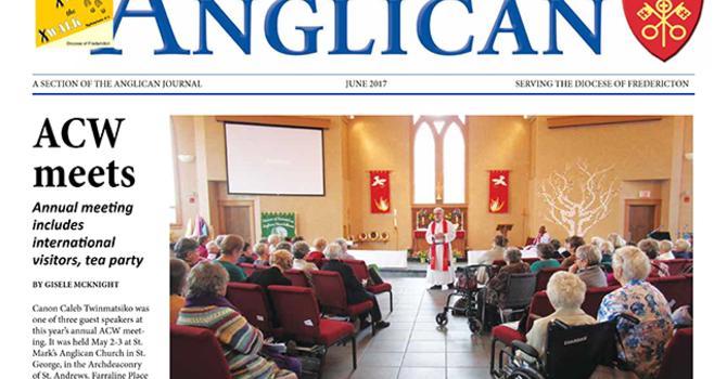 New Brunswick Anglican June 2017 image