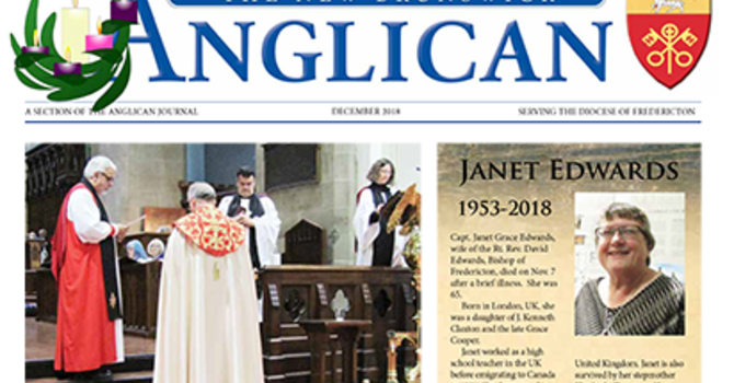 New Brunswick Anglican December 2018 image