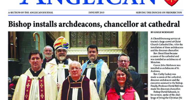 New Brunswick Anglican January 2015 image