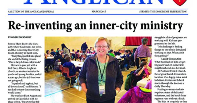 New Brunswick Anglican March 2015 image
