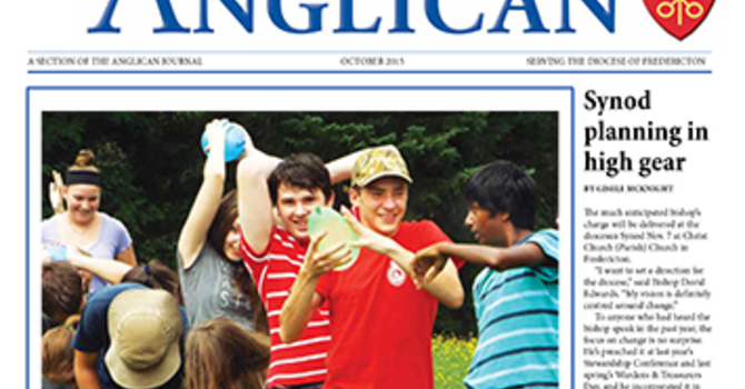 New Brunswick Anglican October 2015 image