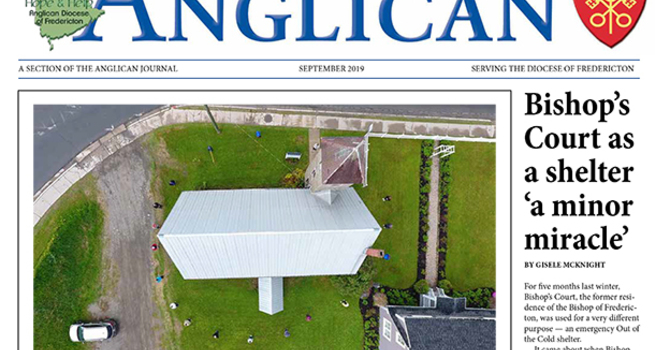September edition - New Brunswick Anglican image