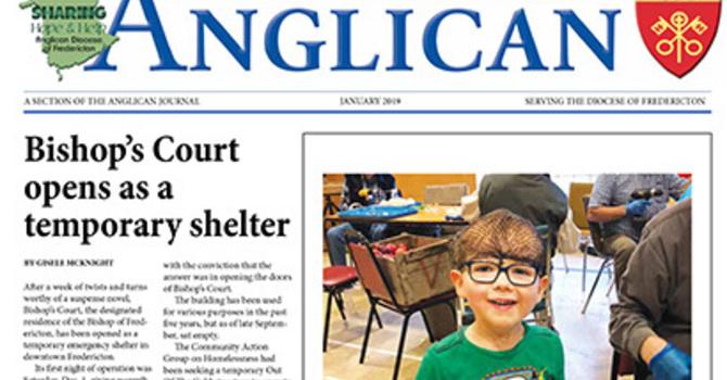 New Brunswick Anglican January 2019 image