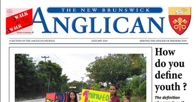 New Brunswick Anglican January 2018 image