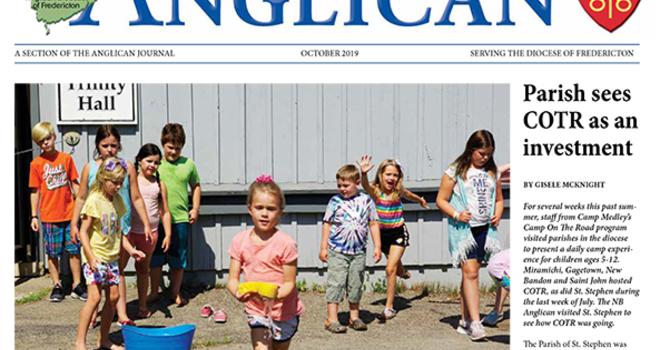 New Brunswick Anglican October 2019 image