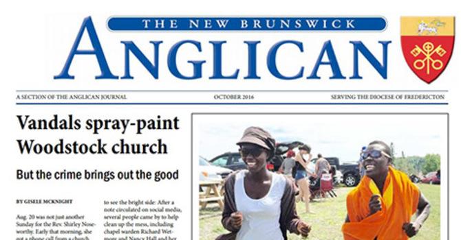 New Brunswick Anglican October 2016 image