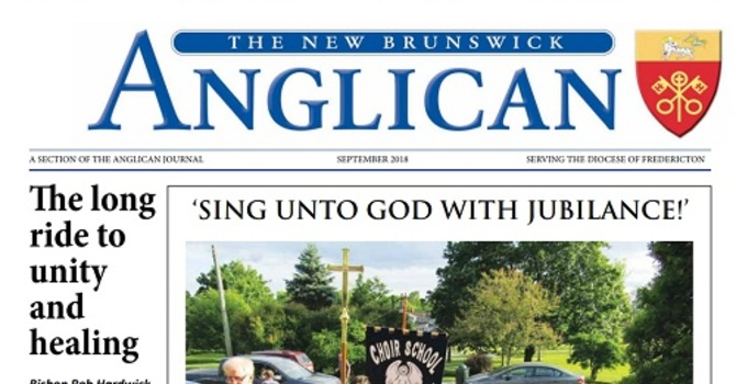 New Brunswick Anglican September 2018 image