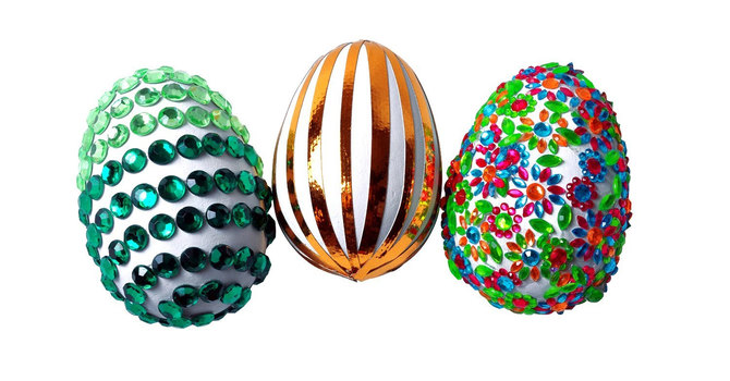 Duct Tape Easter Eggs image