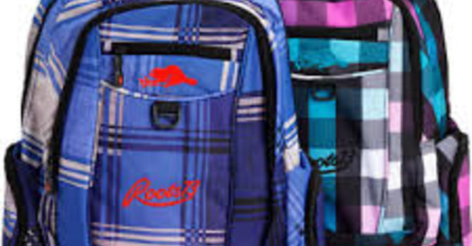 Used and New Backpacks for Sister School image