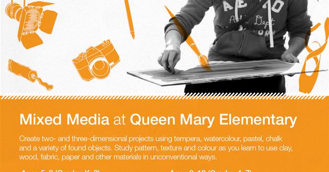 Arts Umbrella Spring Registration image
