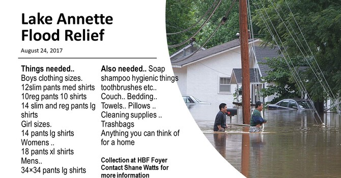 Flood Relief Opportunity image