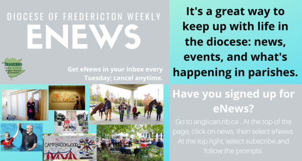 It's the perfect time to sign up for eNews!