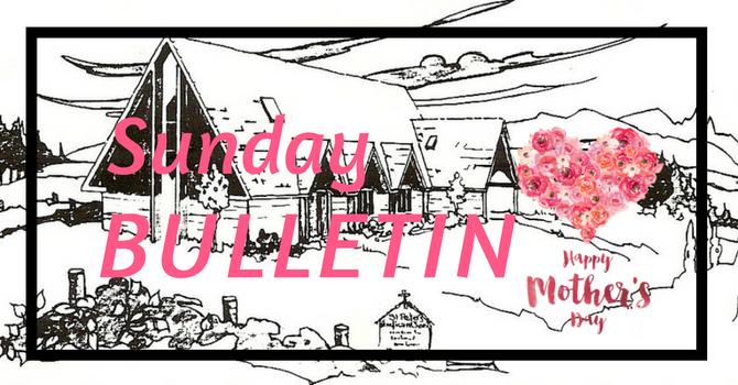 Bulletin - May 13,  2018 image