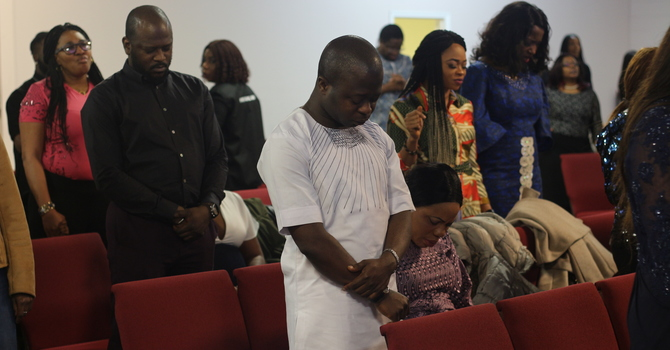Anointing and Holy Communion Sunday image
