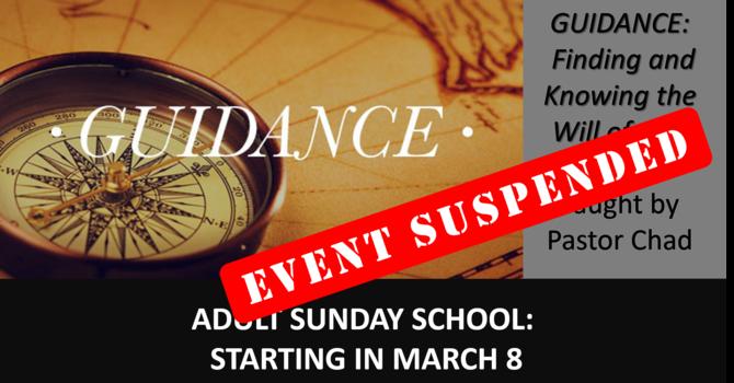 Adult Sunday School Info