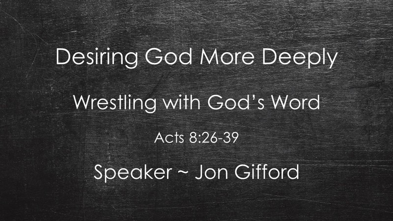 Wrestling with God's Word