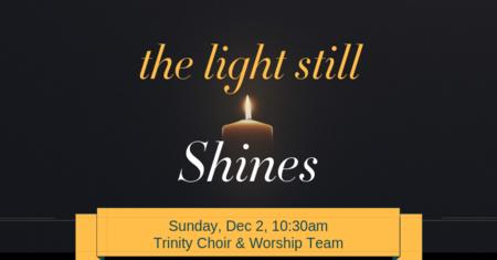 Trinity Choir & Worship Team Christmas 2018