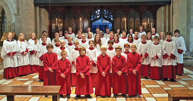 The Choir of Jesus College, Cambridge, UK