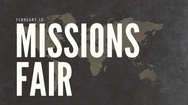Missions Sunday 2019