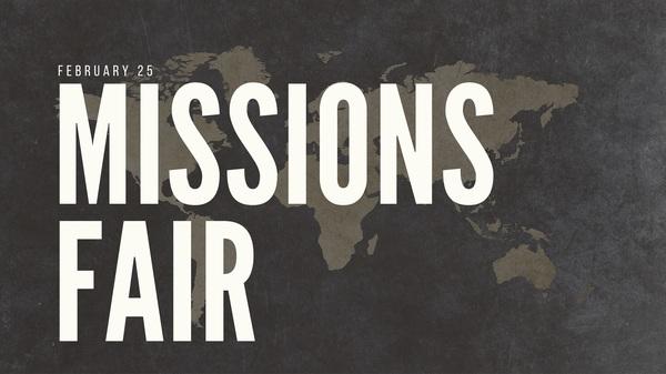 Missions Sunday 2018