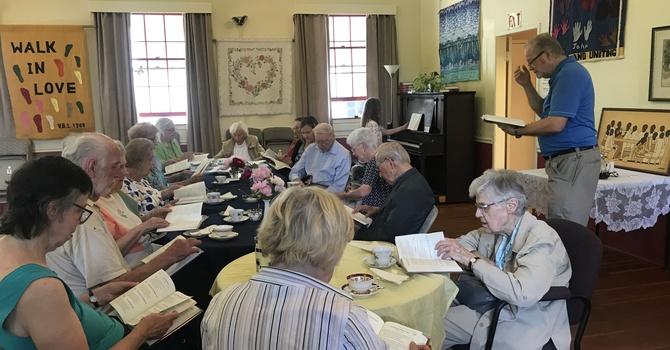 Fellowship Tea and Communion
