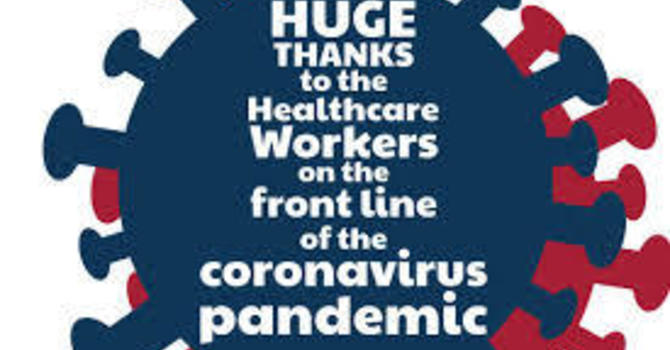 Thank you Healthcare Workers image