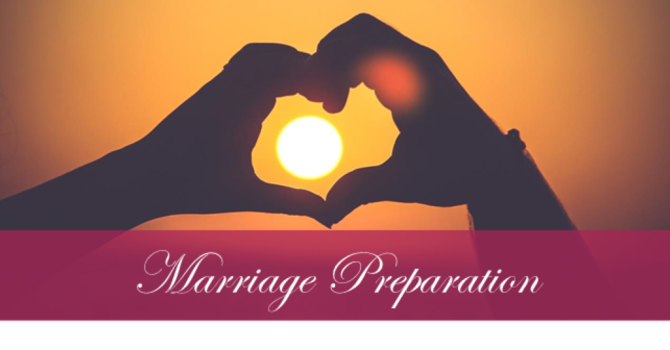 Marriage Preparation - cancelled