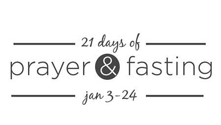 Prayer and Fasting