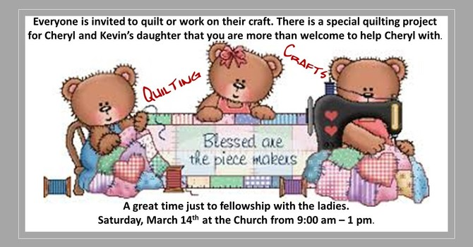 Quilting/Crafting  image